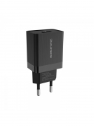 СЗУ BOROFONE BA17A Centrino Single Port QC 3.0 Charger 18 W (EU) (черное)