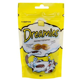 DREAMIES с сыром 60г (Дримес)